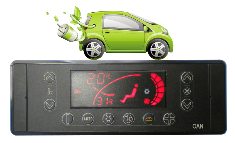 The Control System for All-Electric Bus Air Conditioner